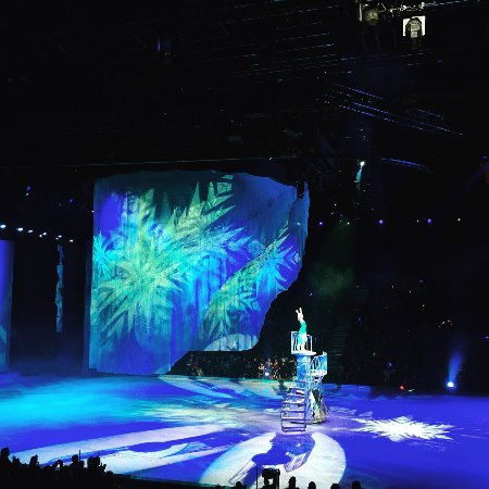 Malmo Arena : Disney on Ice - 2018 - Frost