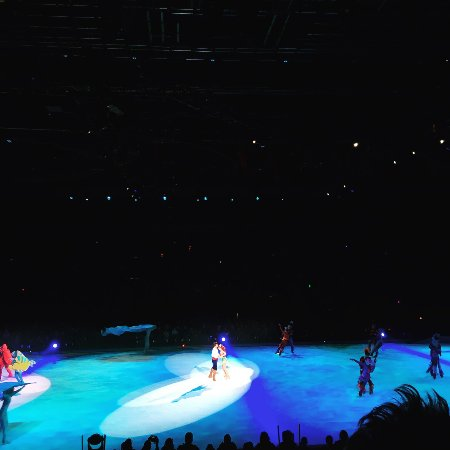 Malmo Arena : Disney on Ice - 2018 - Lilla Sjöjungfrun