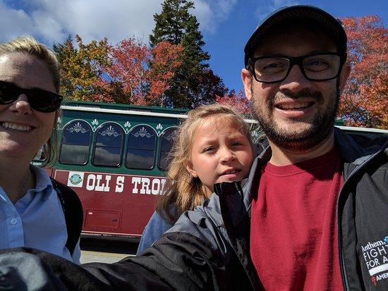 Oli's Trolley - Acadia National Park Tour: The trolley