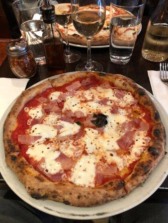 Keste West Village : Pizza prosciutto