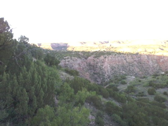 Canyon, TX: View just inside the entrance.