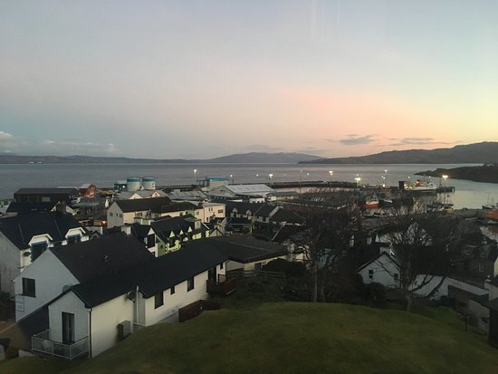 West Highland Hotel: View from room 21 (single)