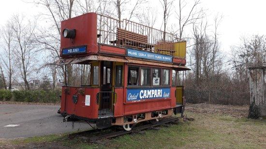 Somma Lombardo, إيطاليا: Tram