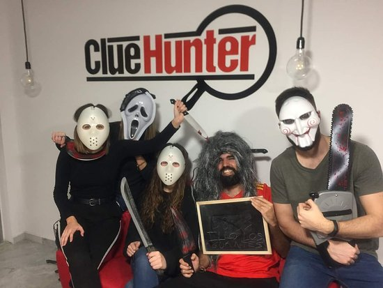 Clue Hunter Sevilla ESCAPE ROOM