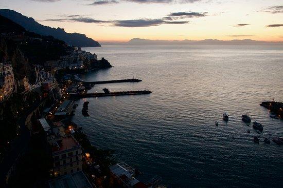 NH Collection Grand Hotel Convento di Amalfi: At dawn...
