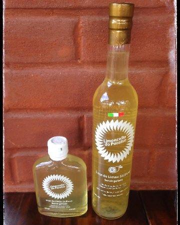Limoncello do Paraíso. Receita tradicional, produzido por italianos. Deliciosa lembrança da Chap
