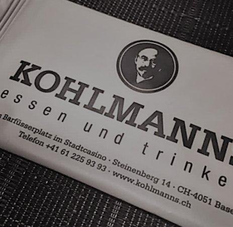 Kohlmanns: Inside shot of the table...