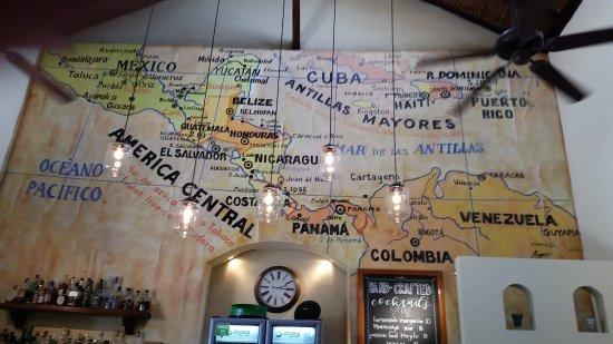 Bocadillos - Tapas Kitchen & Bar: The Wall behind the bar