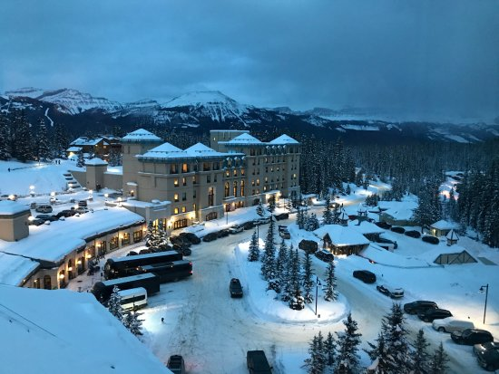 Fairmont Cau Lake Louise Great Hotel The At