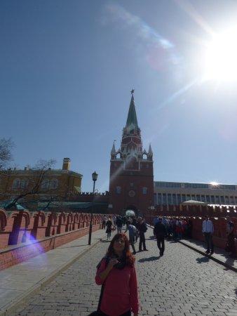 Kremlin Walls and Towers : Ingresando al Kremlim por Trinity Tower