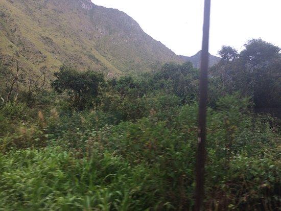 Foto tomada desde Inca Rail