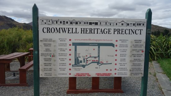 Cromwell Heritage Precinct: whats to see