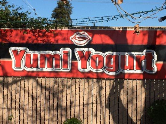 San Mateo, CA: Sign facing El Camino real