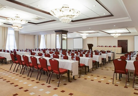 Moscow Marriott Grand Hotel: Meeting room