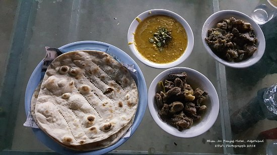 ‪‪Abbotabad‬, باكستان: Lebanese Meat, Daal and Roti‬