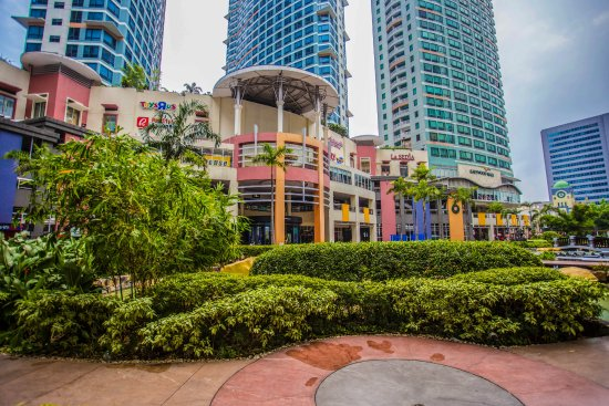 Eastwood Mall Facade Open Park Picture Of Eastwood City Quezon