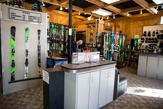 Slopeside Sports - Ski and Snowboard Rentals