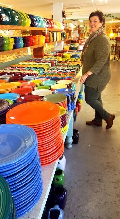 Swiftwater, PA: Fiesta Ware Pottery Company not far away!