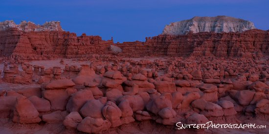 Caineville, UT: Goblin Valley is a 35 min drive