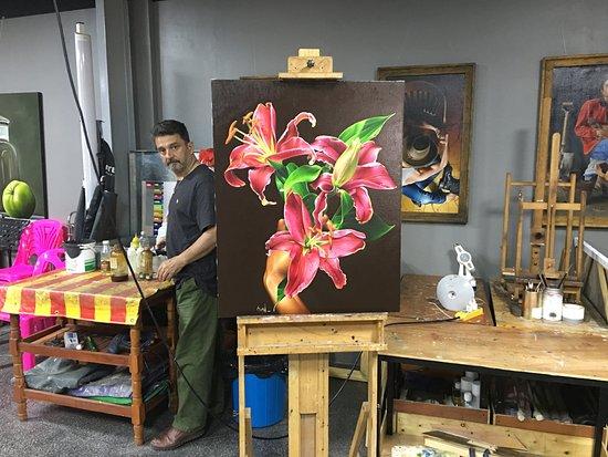 Realistic Fine Art Studio