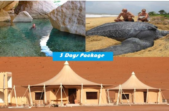 3 Days Package TOUR JASMIN