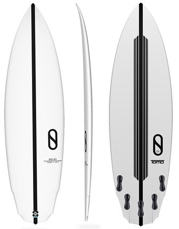 Kilauea, هاواي: Kauai Surfboard Rentals Slater Designs Sci-Fi. 