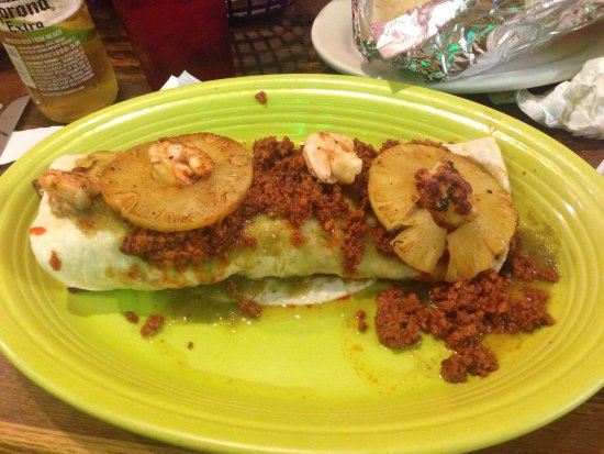 Edinboro, PA: Burrito Puerta Vallarta