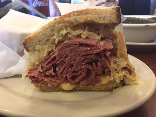 Livingston, NJ: Reuben - perfect!