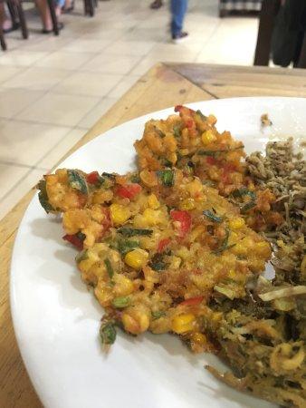 Babi Guling Chandra: Corn fritters
