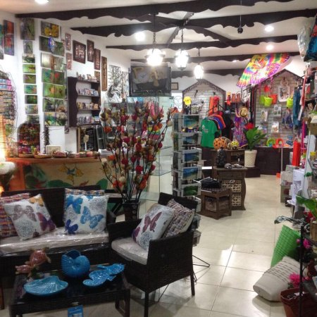 Crown Point, Tobago: A small indication of the variety available at BAMBU
