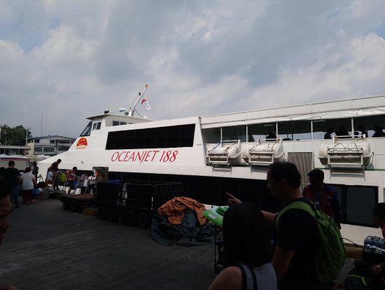 OceanJet: Boarding