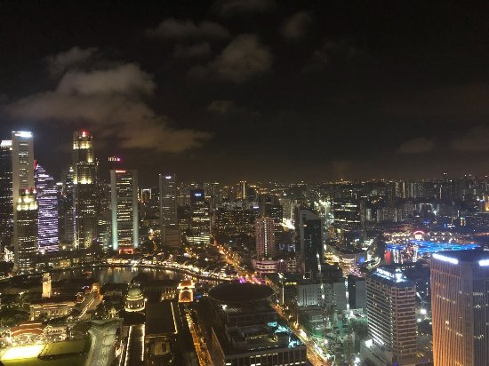Swissotel The Stamford Singapore: View from the 56th floor
