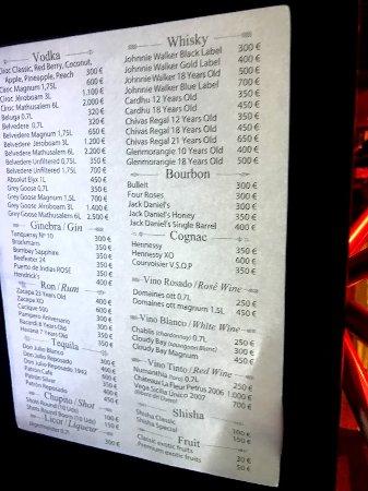 Carte Shoko Barcelone.Carte Des Bouteilles Photo De Shoko Barcelone Tripadvisor