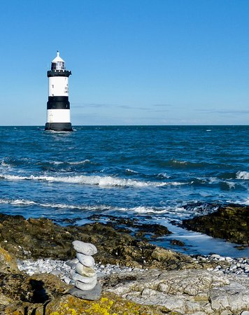 Penmon Point: View from Pebbled beach