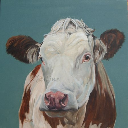 Kendal, UK: 'Sweet disposition',  oil on canvas, available as canvasprint,  by Thuline