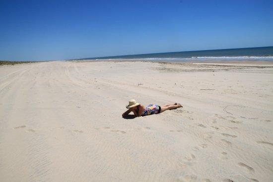 Almonte, Espanha: Traumhafter Strand südöstlich von Matalascanas