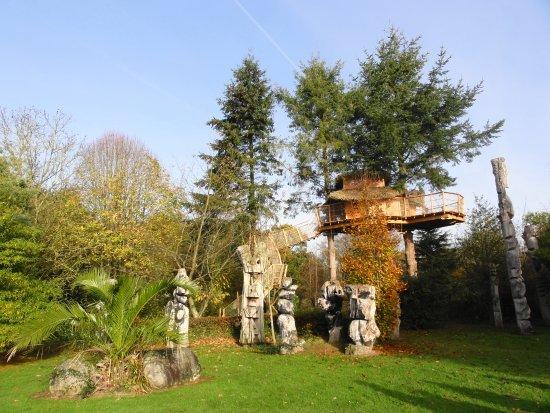 Pléhédel, France : Un endroit apaisant et ressourçant: le jardin de pierre