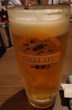 Unagi Shirakawa Joshin Honten: ビール