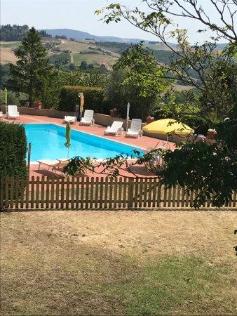 San Giovanni d'Asso, Italy: la nostra piscina