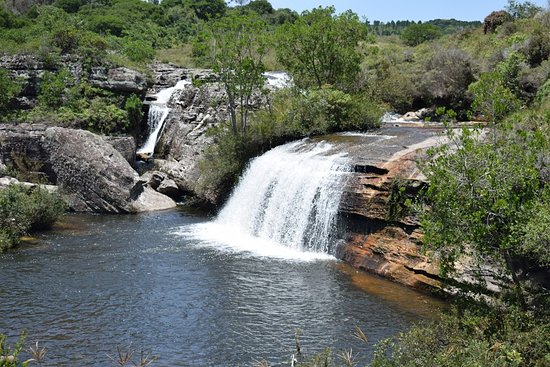 Cannyon e Cachoeira do Rio Sao Jorge