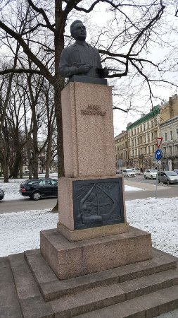 Monument to Janis Rozentals