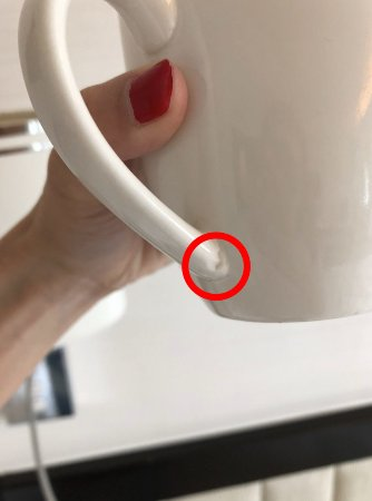 The indestructible coffee mug - won't be surprised if it's even bulletproof