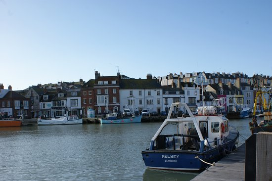 Russell Hotel: Weymouth old harbour.