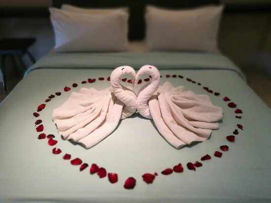 FuramaXclusive Ocean Beach : Honeymoon decor