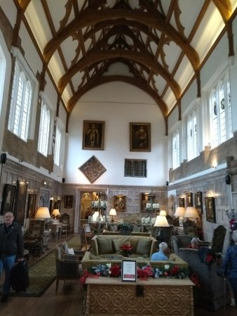 Fawsley, UK: Impressive hall