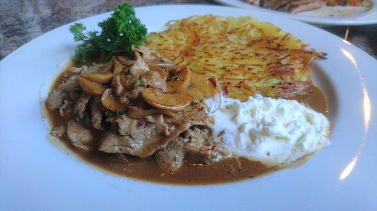 Chez Andy Swiss Restaurant & Steak House: เนื้อผัด