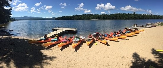 Oquossoc, Maine: EcoVenture Youth Camp