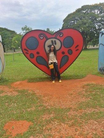 Foto De Jardim Zoologico De Brasilia Logo Na Entrada Tem Um