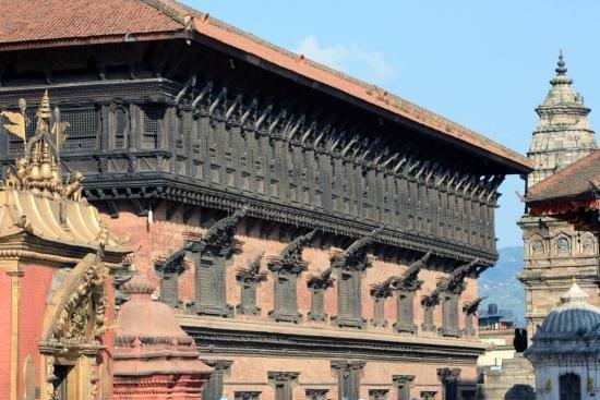 Kathmandu Valley, Nepal: Bhaktapur darbar square