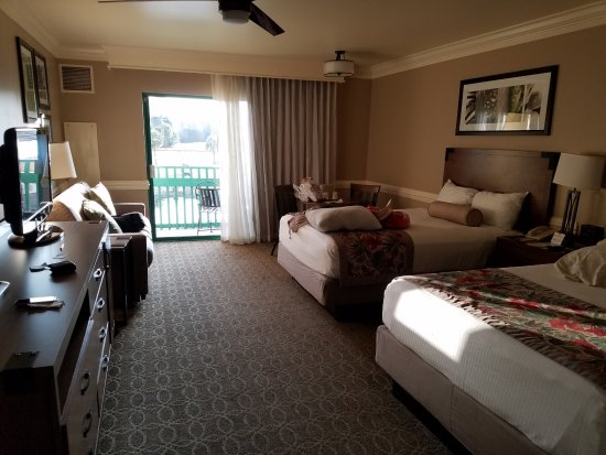 standard room picture of shades of green hotel orlando. Black Bedroom Furniture Sets. Home Design Ideas